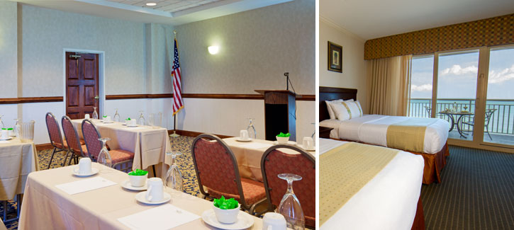 Plan your next meeting at the Holiday Inn Hotel & Suites