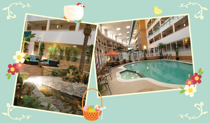 Easter Weekend Package at the Quality Inn Oceanfront