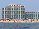 Ocean City boardwalk hotel with efficiency rooms with kitchens