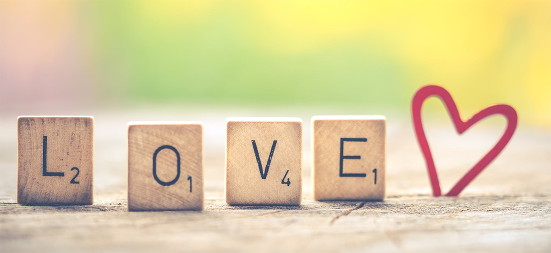 Spell out your love at the Holiday Inn Hotel & Suites