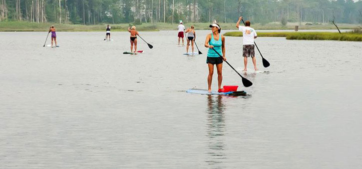 Walk on Water Paddleboard Lessons.