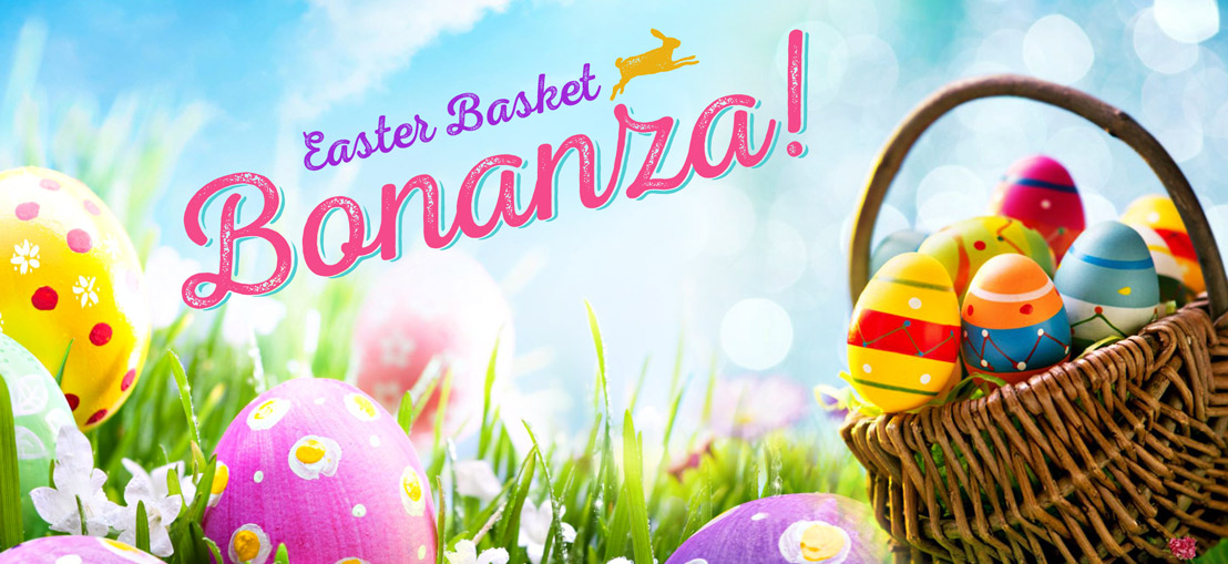 Easter Basket Bonanza at the Quality Inn Boardwalk!
