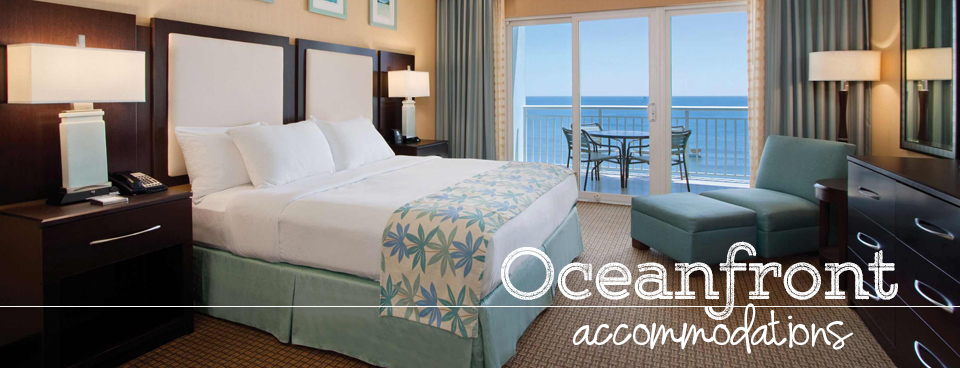Oceanfront accommodations with breathtaking views