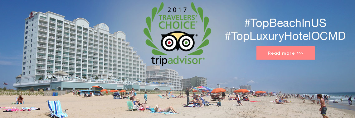 Ocean City and Hilton win TripAdvisor Top Luxury hotel in the US awards