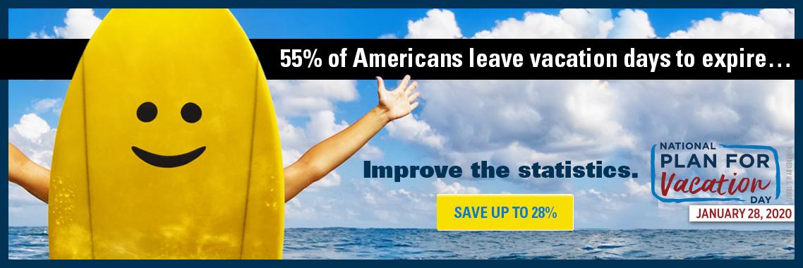 National vacation day savings 2020
