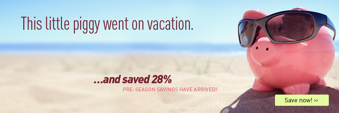 Pre Season savings at Ocean City Maryland Hotels!