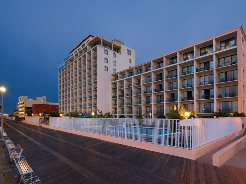 Quality Inn 17 Boardwalk building boardwalk and oceanfront pools