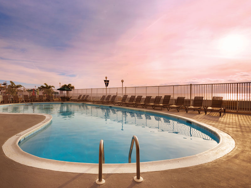 One of our two Luxurious oceanfront pools