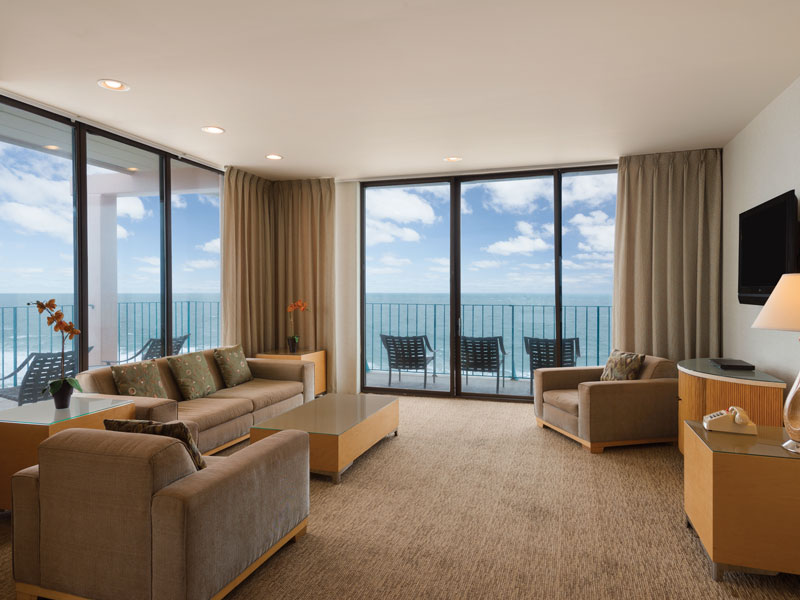 Luxury penthouse with oceanfront panoramic view