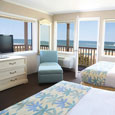 Wake up each morning to breathtaking views of the Atlantic Ocean.