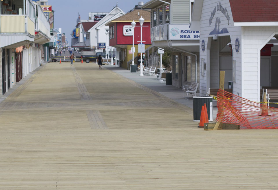 New Boardwalk in Ocean City