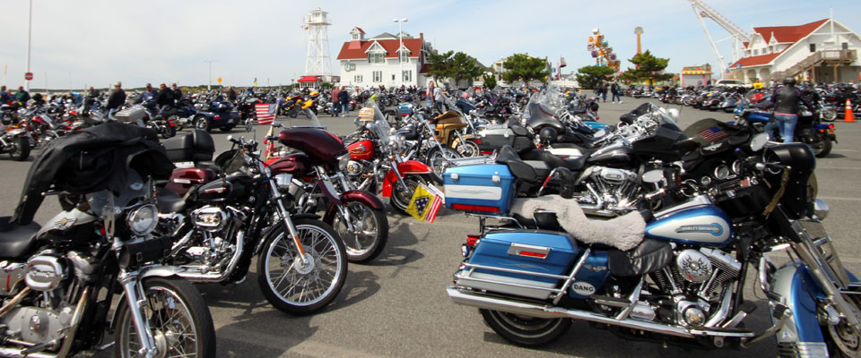 third annual bikes to the beach in ocean city maryland