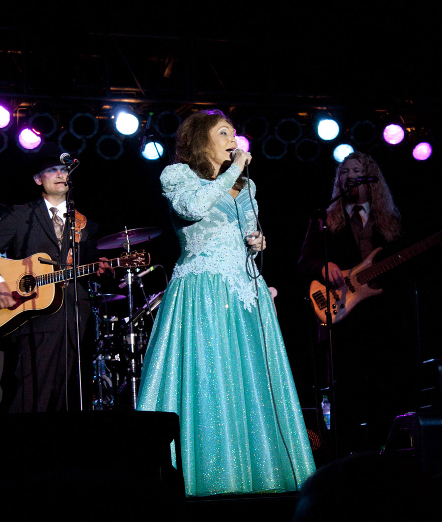 Loretta Lynn at Springfest in Ocean City Md