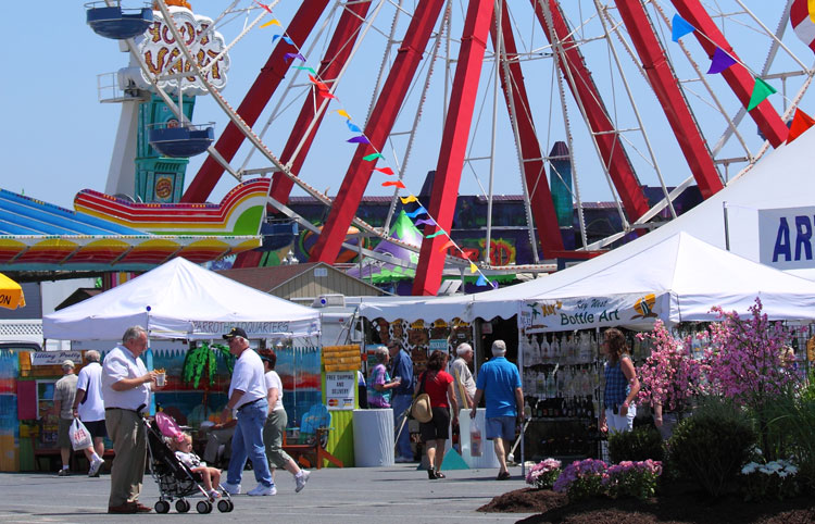 Springfest in Ocean City, Maryland