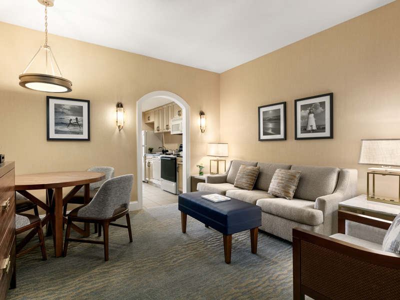 Complete, well-appointed living room