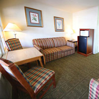 The Inlet Suite at the Oceanic offers great views and plenty of room for friends and family.