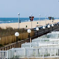 The Seabonay is located just one block from the famous Ocean City Boardwalk.