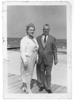 Lois and G. Hale on the Boardwalk