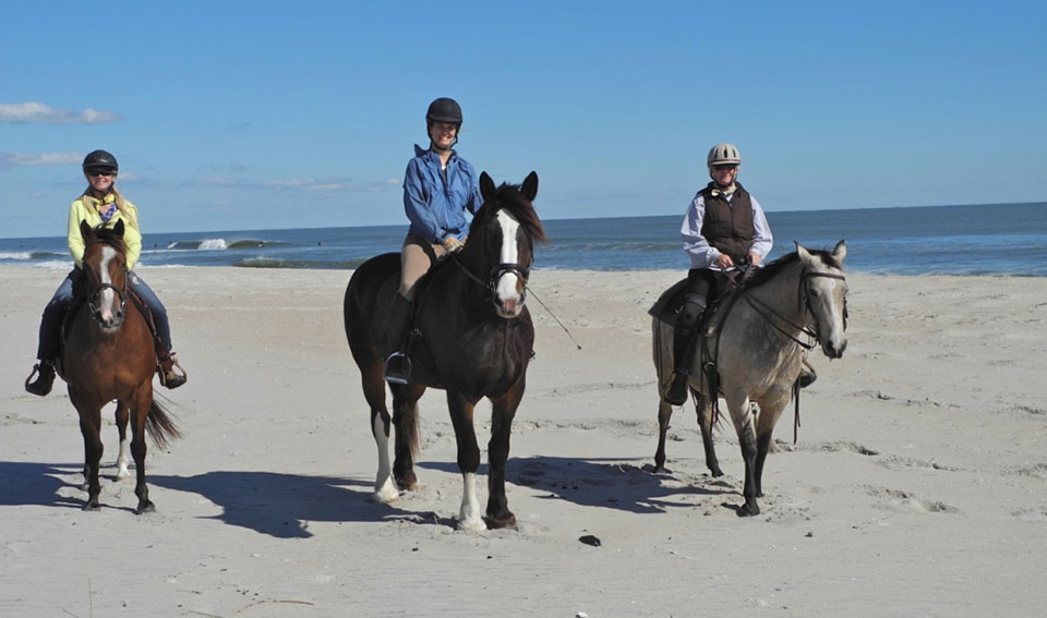 Horseback riding in Ocean City, Maryland