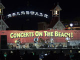 The Crawdaddies broke out the wash board during their show at the Ocean City Boardwalk