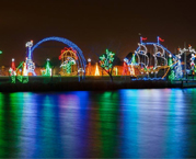 Christmas Light display in Ocean City