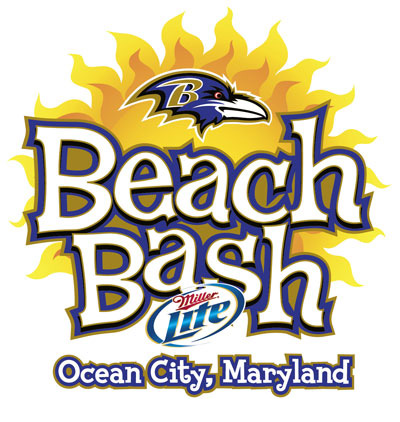 Ravens Beach Bash Ocean City Md