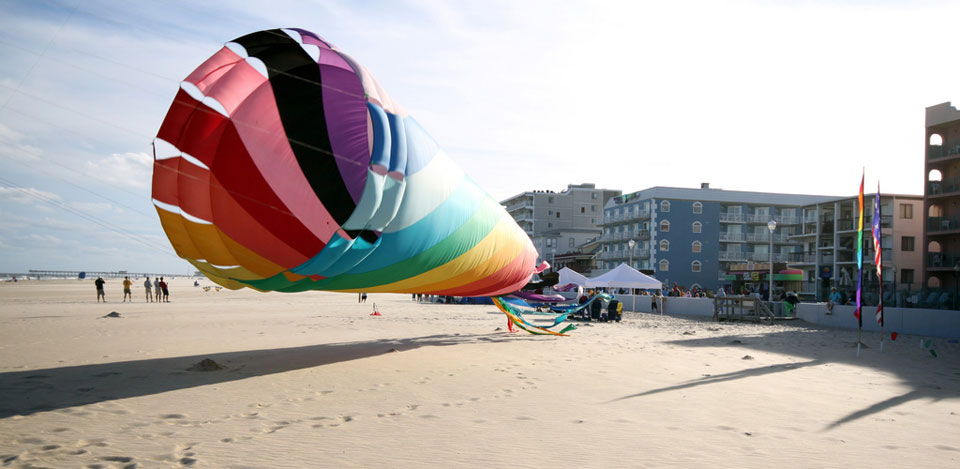 Kite Expo in Ocean City Maryland
