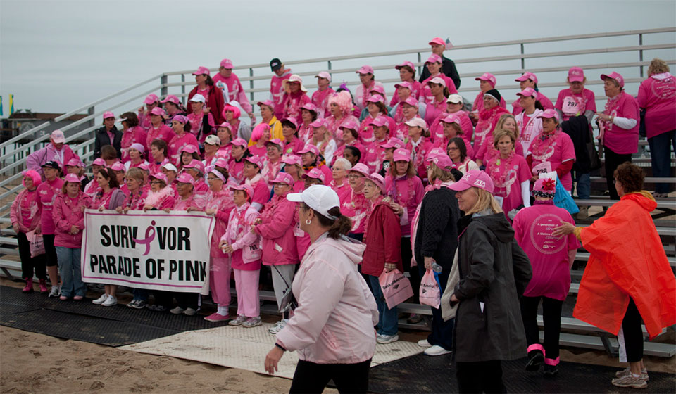 Komen Race for the Cure in Ocean City Maryland