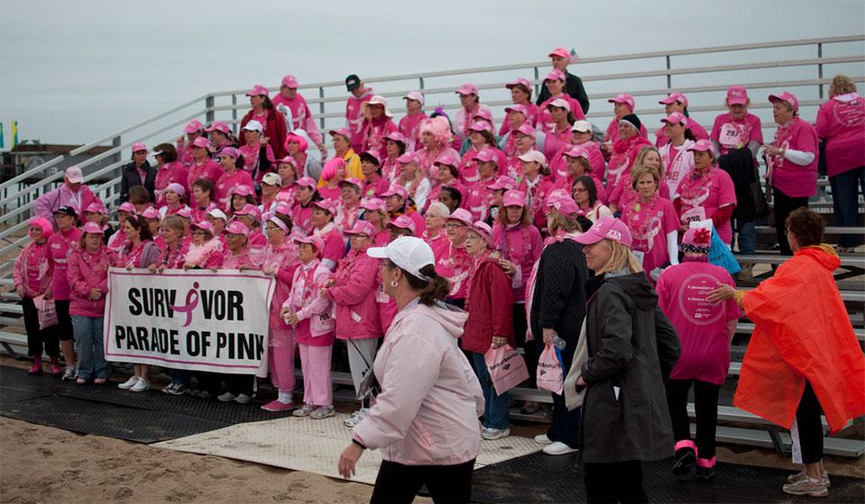 Kolmen Race for the Cure in Ocean City Maryland