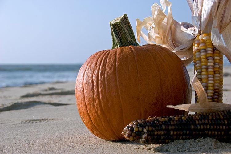 Octoberfest on the beach