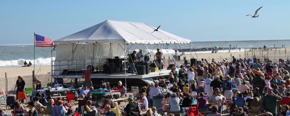 Winefest on the Beach at Ocean City Md
