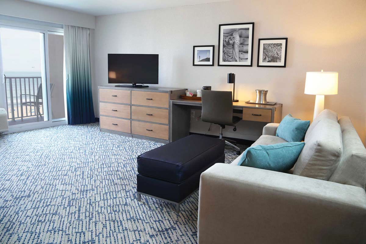 Spacious suites for you and your family