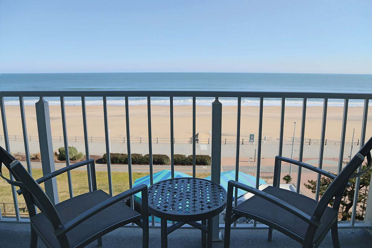 Panoramic ocean views in all of our rooms
