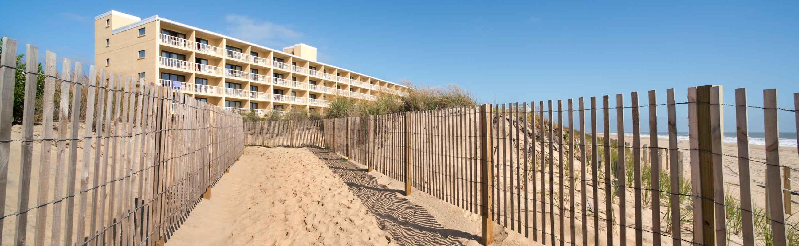 beach access walk