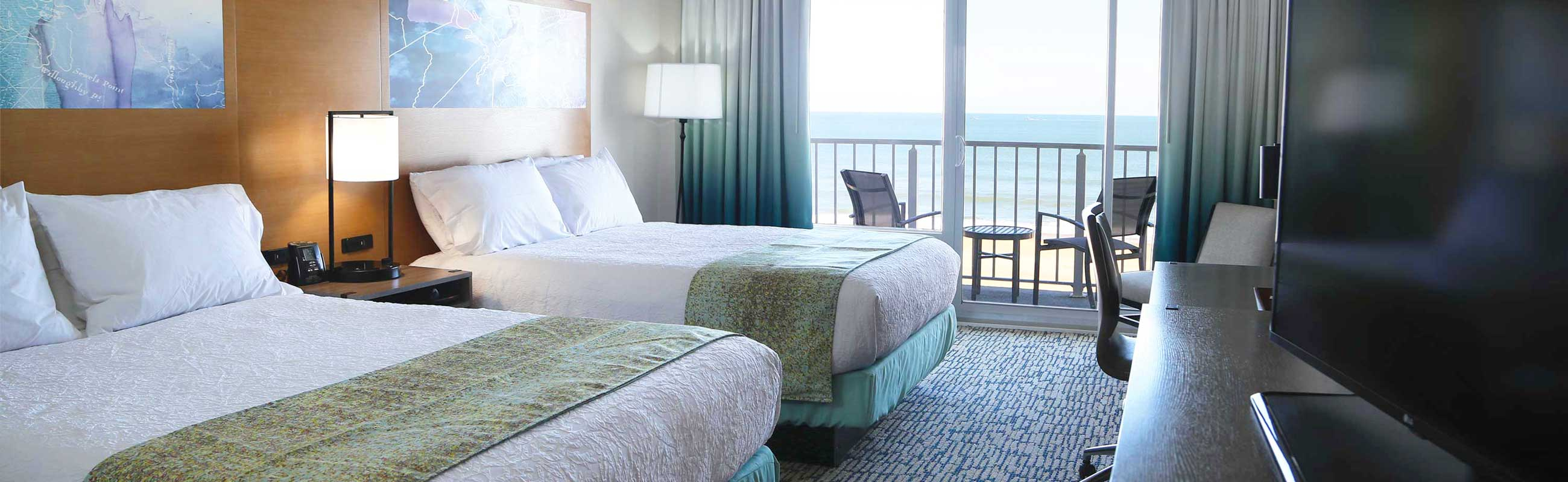 renovated oceanfront accommodations