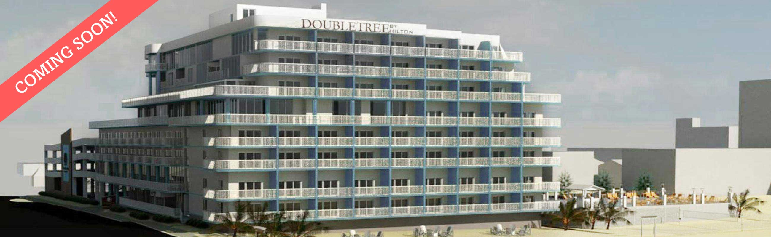 New for 2018: The DoubleTree by Hilton Ocean City Oceanfront