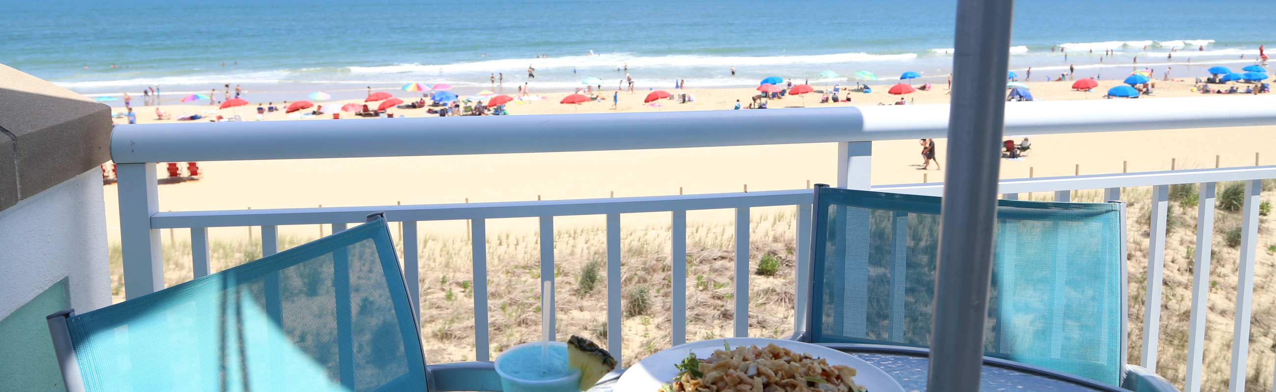 oceanfront dining experience at the hilton ocean city maryland