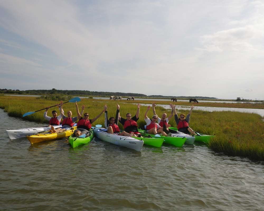 Off-site team building and tours available