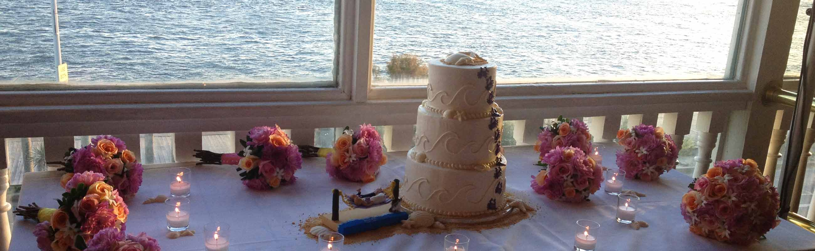 Amazing inlet and Assateague views with your wedding