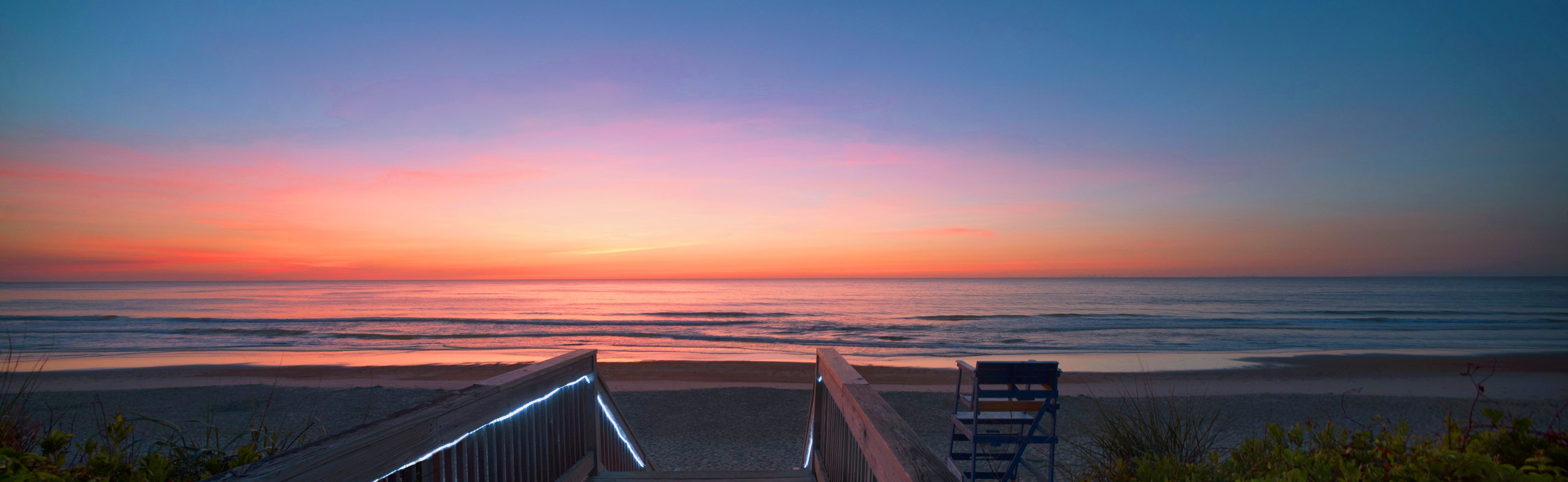 stunning views of pristine outer banks beaches