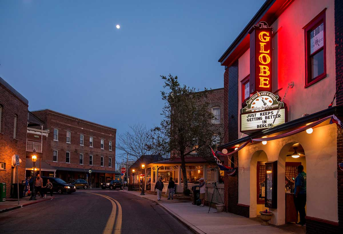 Berlin, Maryland Coolest small town in America